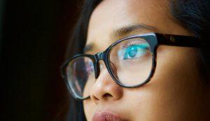 Brille Frau